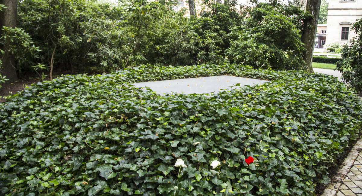 Tumba de Richard y Cosima. © Bayreuth.es