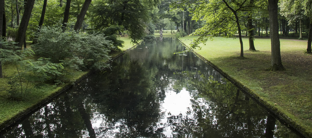 Canales del Hofgarten. © Bayreuth.es