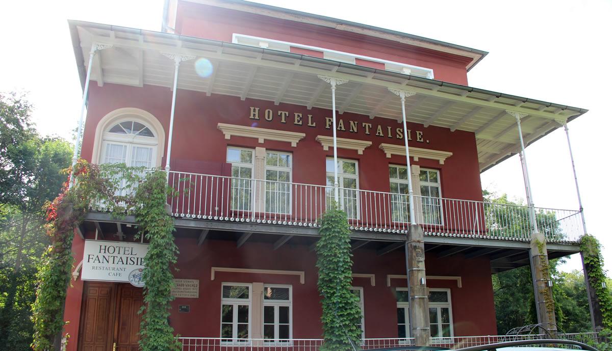 Fachada del Hotel Fantaisie. © Bayreuth.es