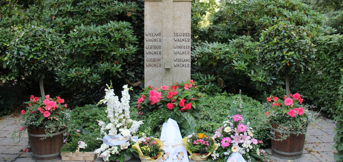 Panteón de la familia Wagner en Stadtfriedhof. © Bayreuth.es