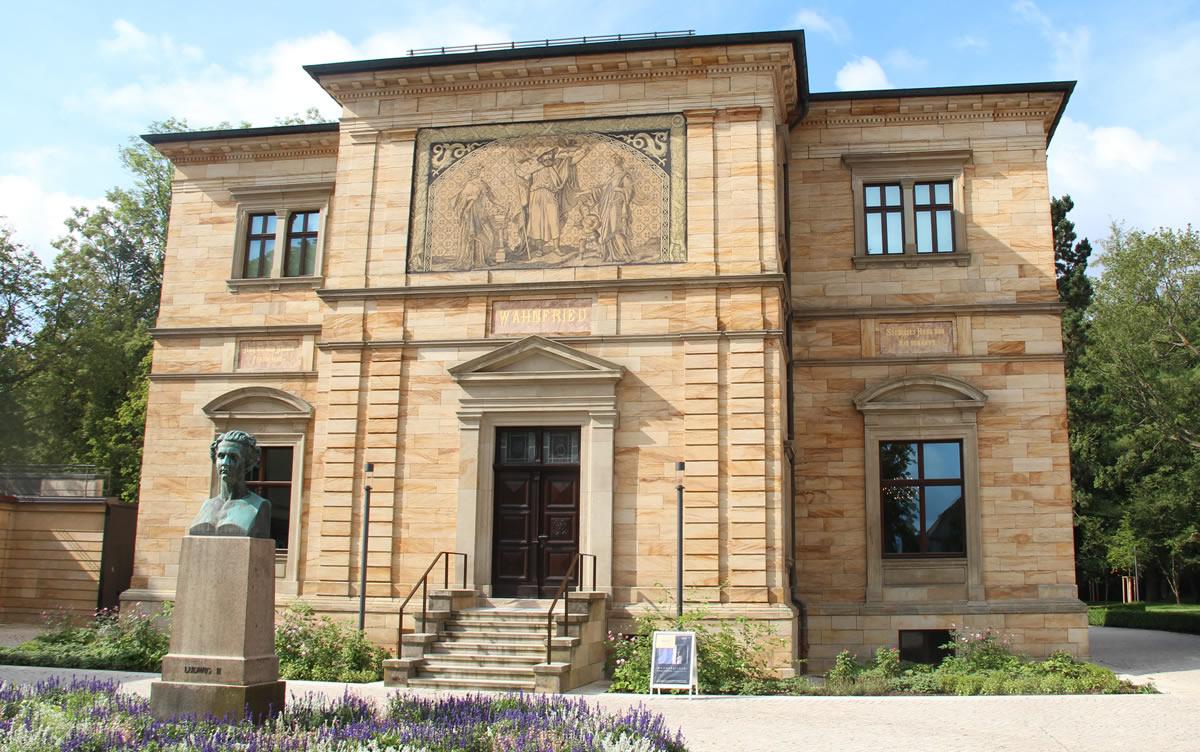 Fachada principal de Villa Wahnfried. © Bayreuth.es