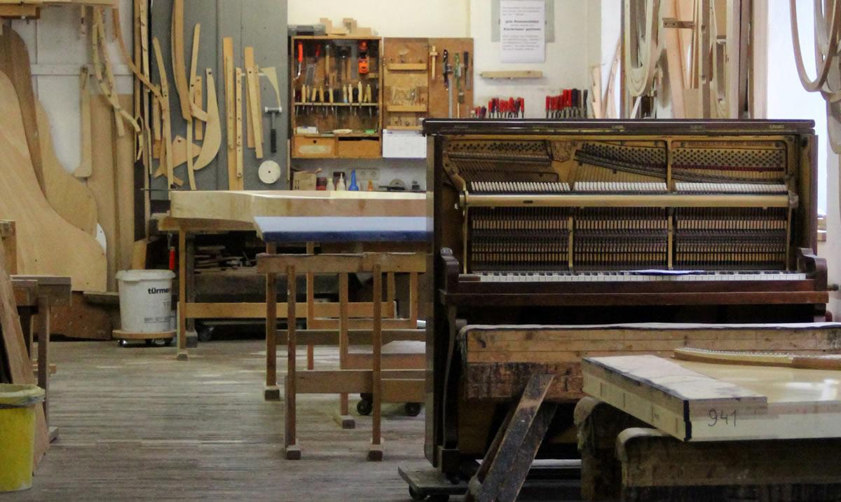 Instalaciones de la fábrica de pianos Steingraeber. © Bayreuth.es
